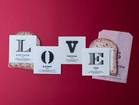 WORDS SANDWICH / LOVE SET