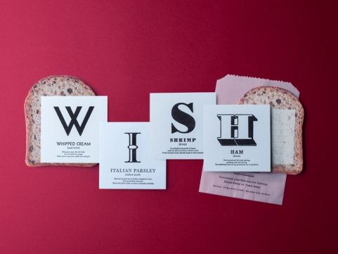 WORDS SANDWICH / WISH SET